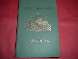THE AVICULTURAL MAGAZINE JAN -DEC 1958 HARDBACK BOUND, 199 PAGES, VOL LX1V