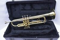 King 600 Bb Student Trumpet with case, mouthpiece SN 900451