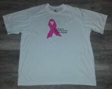 Unisex 2Xl Badger Sport Athletic Top Breast Cancer Awareness Team Walking on