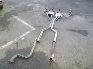 Ford Capri 2.8 injection.  exhaust system