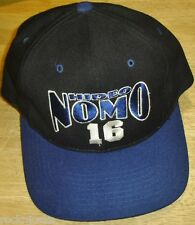 HIDEO NOMO hat Los Angeles Dodgers Vintage 90's Snapback cap MLB nutmeg LA #16