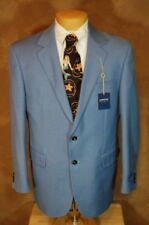 ARROW, 2-BUTTON BLAZER, BLUE, sz 44 REG, NWT