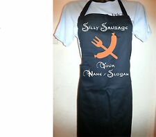 Custom Printed Silly Sausage Apron - Personalised Free