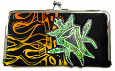 "KOTTONMOUTH KINGS ""KISS"" BLACK CLIP CLUTCH WALLET NEW OFFICIAL LADIES"