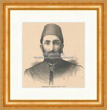 Abdul Hamid II. sultano Turchia osmanisches ricco cavaliere Orden legno chiave e 20717