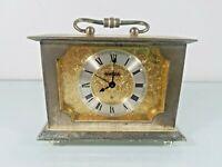 Vintage SWIZA  Brass Desk Clock SPARES/REPAIRS