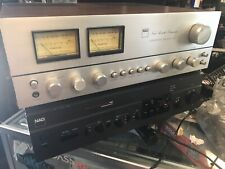 RARE Vintage NAD 3045 Stereo Amplifier great working order european plug