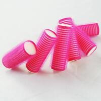 Useful Size S 6PCS Cling Roller Sponge Sleep In Foam Hair Tools Design  C~@