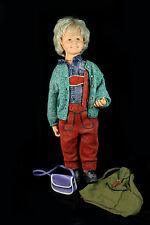 alte ZAPF Spielpuppe 95 cm Junge VINYL Spiel Sammel Puppe Vintage Doll 1970/80er