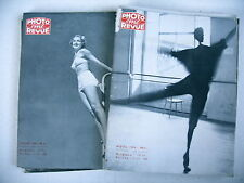 PHOTO CINE REVUE lot 9 revues 1954