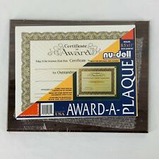 College Diploma Graduation University Degree Certificate Award Plaque Frame New