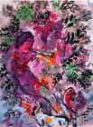 Marc Chagall The Boy in the Flowers 1955 Limited Edition Giclee Print
