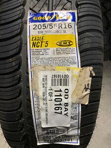 1 New 205 55 16 Goodyear Eagle NCT-5 EMT Run Flat Tire