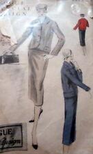 LOVELY VTG 1950s SUIT VOGUE SPECIAL DESIGN Sewing Pattern 14/32