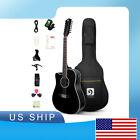 Left-handed Guitar Acoustic-electric Guitar12 String Guitar Matte black for sale