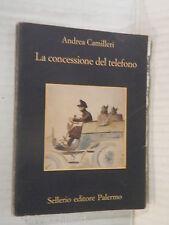 LA CONCESSIONE DEL TELEFONO Andrea Camilleri Sellerio La memoria 1999 romanzo di