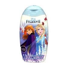 2 x Disney Frozen 2 In 1 Shampoo & Conditioner 300ml Each Girls Hair Care Elsa
