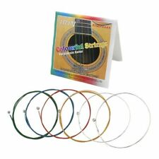 IRIN A105 Acoustic Folk Guitar Strings Colorful Coated Copper Alloy Wound