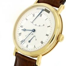 Breguet Classique Retrograde Seconds 18K Yellow Gold Mens Watch 5207