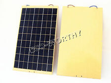 2*10WATT 12VOLT Solar panel, Epoxy Battery Charger+Diode+cable, OUTING, outside