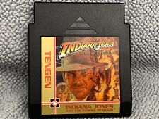 Indiana Jones and the Temple of Doom Tengen Version Nintendo NES TESTED