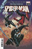 FCBD SPIDER-MAN #1 Marvel 2020 - Venom, Virus appearance
