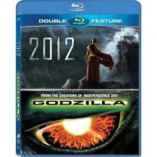Double Feature Movie Collection: 2012 + Godzilla Box / BluRay Set [Region Free]