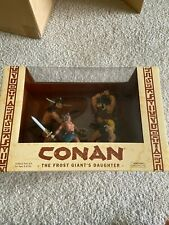 Conan the Frost Giant's Daughter 4-piece PVC Set