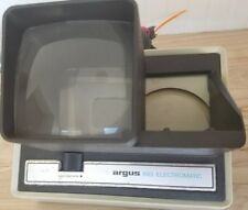 VINTAGE ARGUS 693 ELECTROMATIC 35MM 2 X 2 SLIDE VIEWER AUTO ADVANCE hipster (E)