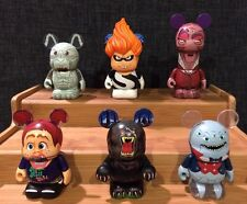 "Disney Vinylmation 3"" - Villains 5 Pixar - Set of 6"