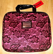 NEW BETSEY JOHNSON femme fatale floral Pink LAPTOP NOTEBOOK SLEEVE CASE BAG NWT