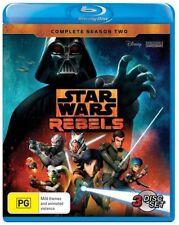 Star Wars Rebels : Season 2 (Blu-ray, 2016, 3-Disc Set)