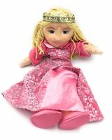 "The Puppet Company Princess Queen Hand Puppet Doll Toy With Pink Dress 19"" Tall"