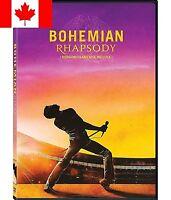 BOHEMIAN RHAPSODY DVD (2018) New !! Pre-Order Ships Feb 12(FAST & FREE SHIPPING)
