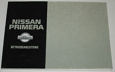 Betriebsanleitung Nissan Primera P 10 / P10 Limousine Handbuch August 1993!