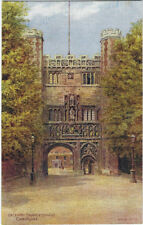 CAMBRIDGESHIRE: Gateway,Trinity College,Cambridge  - A.R.QUINTON - SALMON *1563