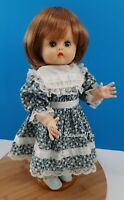 """Vintage Reliable Doll 1960 Blue Sleep Eyes Kemper Wig Made in Canada 15"""""""