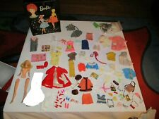 New ListingVintage 1960's Barbie Double Sided Trunk Case with Doll, Clothes and Accessories