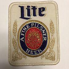 Lite A Fine Pilsner Beer Patch