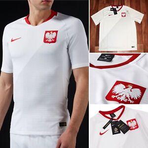 Nike 2018/19 Polska Poland National Polish Home Dri Fit Soccer Jersey  XL,2XL