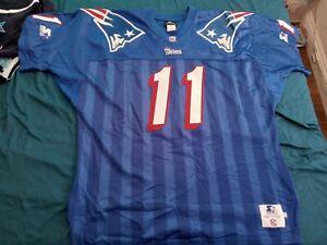 Starter vintage authentic Drew Bledsoe New England Patriots jersey RARE 90s 2xl