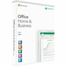 Microsoft Office 2019 Home & Business Medialess 1 User PC