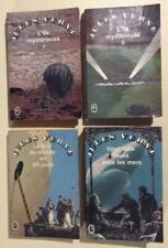 Lot 4 Livres Jules Verne