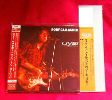 Rory Gallagher Live In Europe MINI LP CD JAPAN BVCM-37641