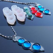 Pea Mould Mold Resin Necklace Pendant Crafts Making Jewellery DIY Tool