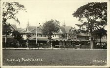 Trinidad Queen's Hotel c1915 Real Photo Postcard