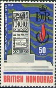 BRITISH HONDURAS -1968- Belizeans Memorial 1965 in the new town of Belize - #213