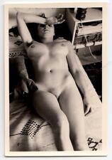 Longhair NUDE BEAUTY/cheveux longs nu AKT FOTO * Vintage 60 s amateur photo #3