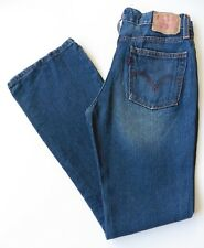 Women's Levis 518 Bootcut Jeans Size 8R (34R) Blue W27 L31 Levi Strauss Stretch