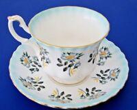 Royal Albert Footed Teacup and Saucer Set